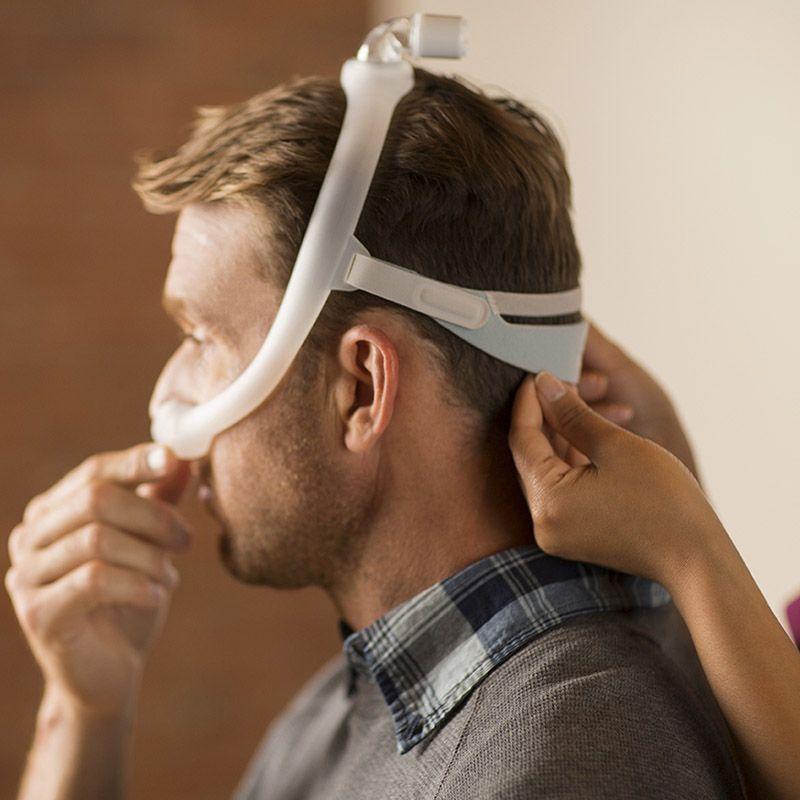 (COMBO) CPAP (Automático) System One Serie 60 + Umidificador + Máscara Nasal DreamWear Philips Respironics