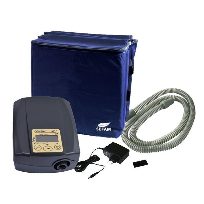 (COMBO) CPAP (Pressão Fixa) Ecostar Sefam + Máscara Nasal Pico Philips Respironics