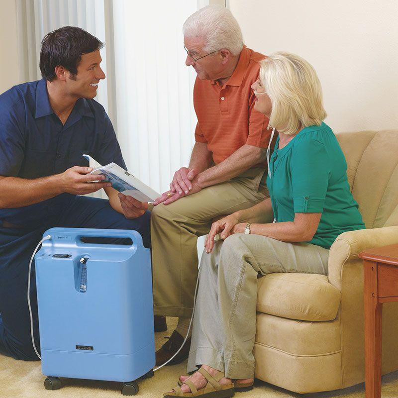 Concentrador de Oxigênio EverFlo (até 5LPM) - Philips Respironics