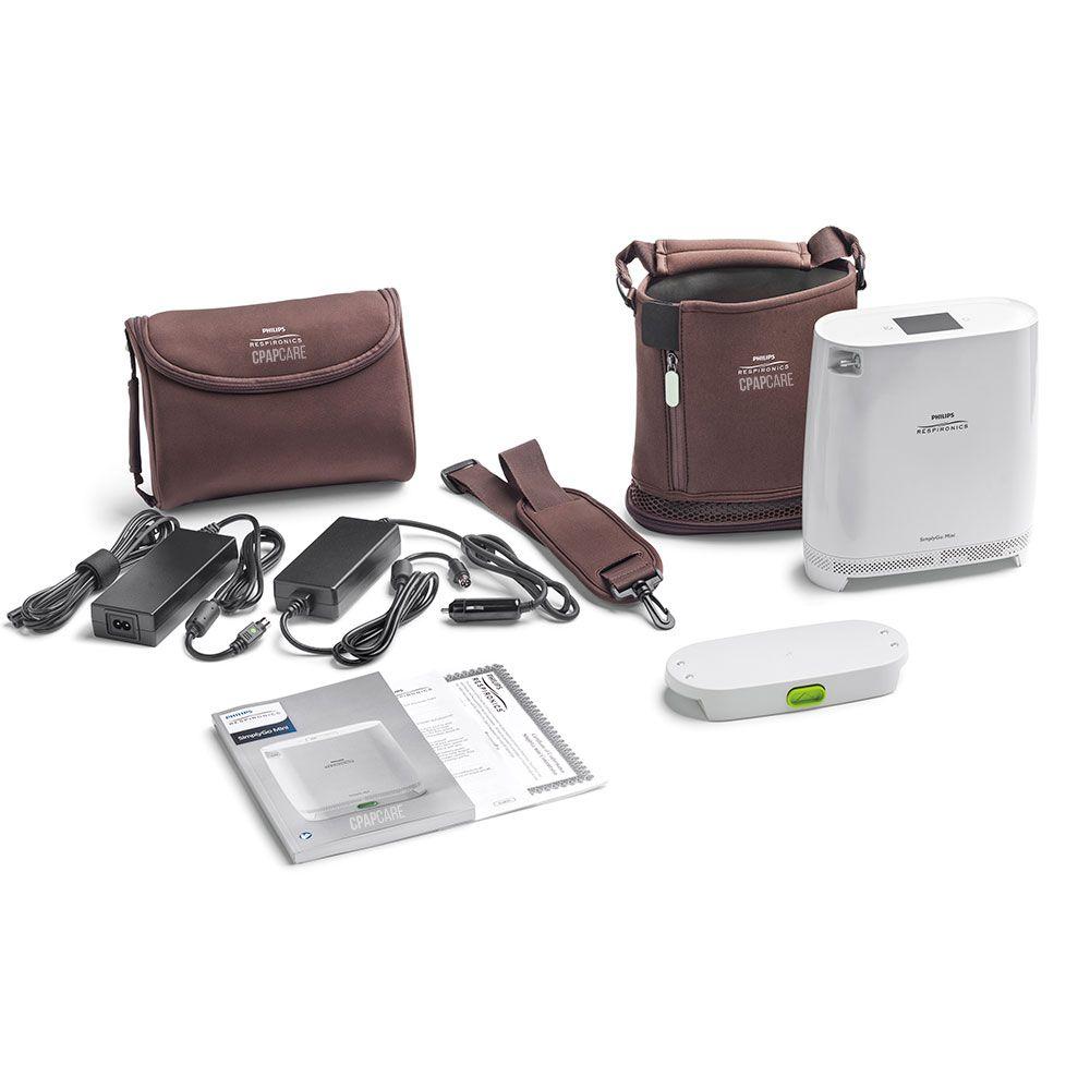 Concentrador Portátil de Oxigênio SimplyGo Mini (até 1LPM) - Philips Respironics