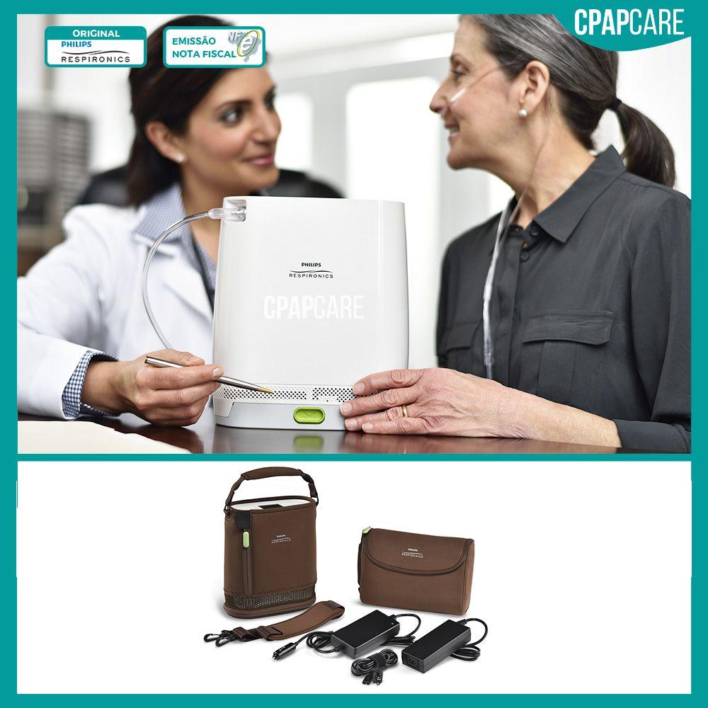 Concentrador Portátil de Oxigênio SimplyGo Mini Philips Respironics (até 1LPM)