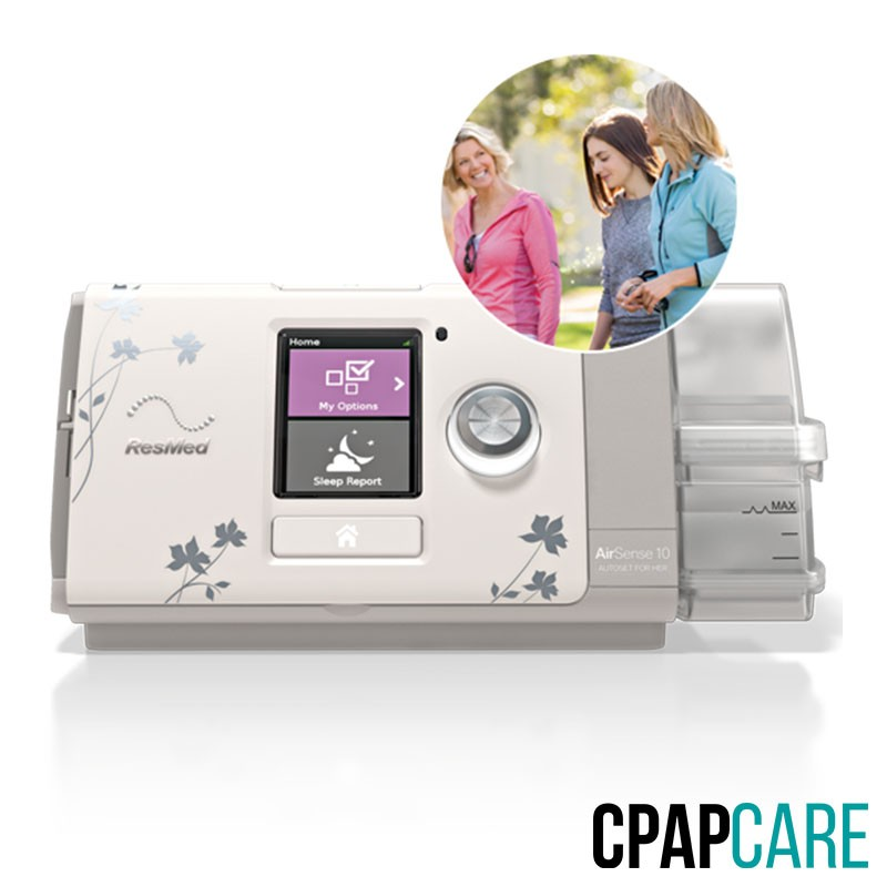CPAP (Automático) AirSense 10 AutoSet para Ela com umidificador Resmed