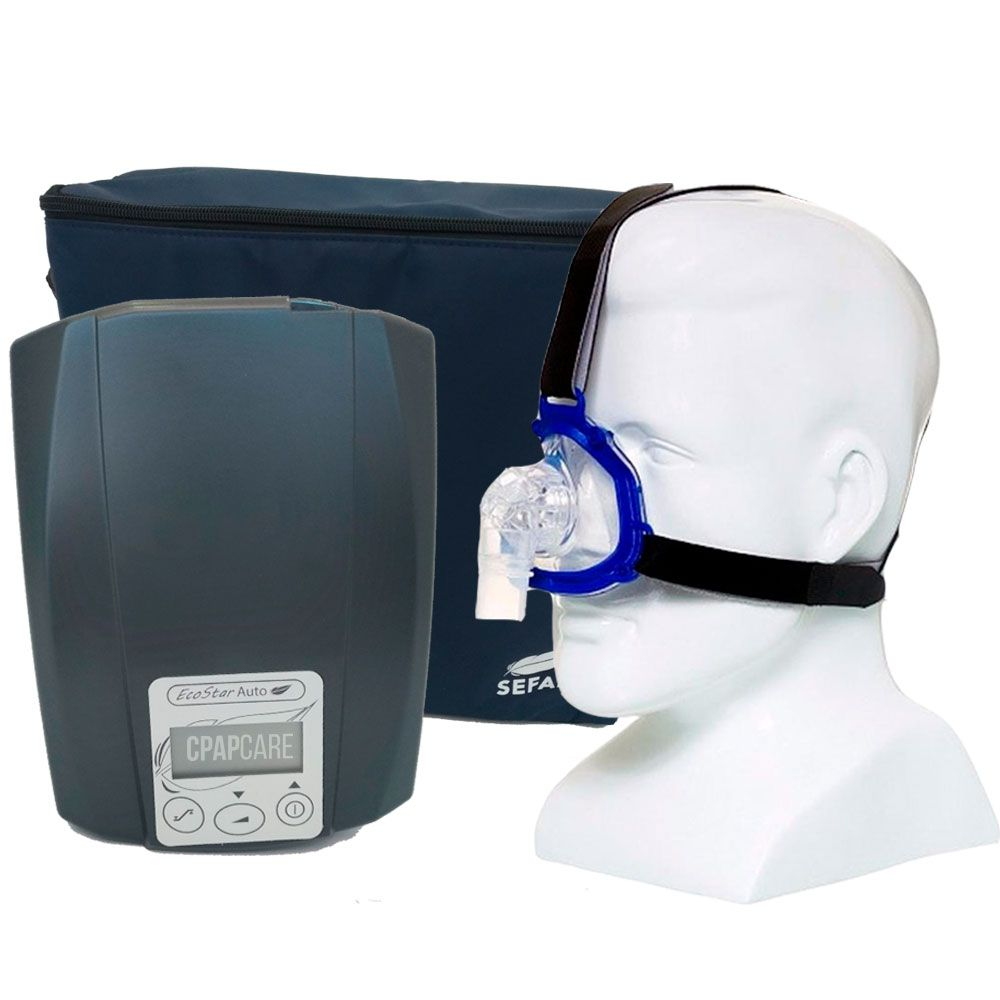 CPAP Automático Ecostar Sefam + Máscara Nasal Meridian
