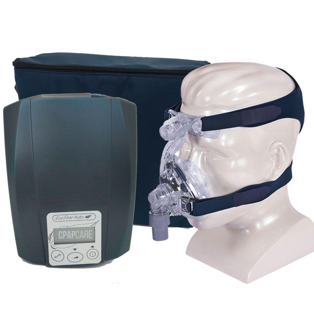 CPAP Automático Ecostar Sefam + Máscara Nasal Mirage Activa LT