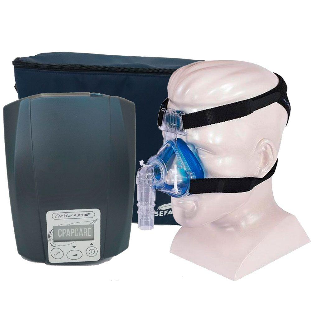 CPAP Automático Ecostar Sefam + Máscara Nasal Profile Lite