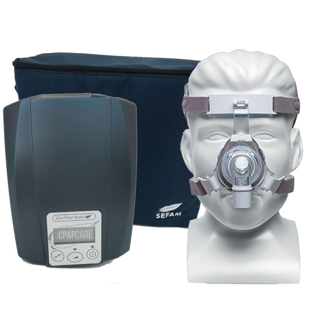 CPAP Automático Ecostar Sefam + Máscara Nasal TrueBlue