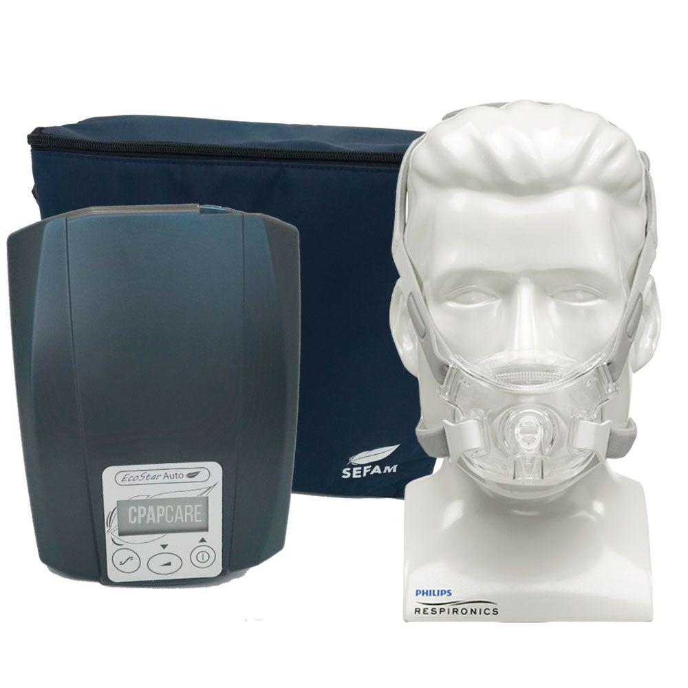 CPAP Automático Ecostar Sefam + Máscara Oronasal Amara View