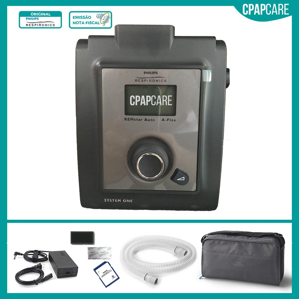 CPAP (Automático) REMstar Auto A-Flex System One Serie 60 Philips Respironics