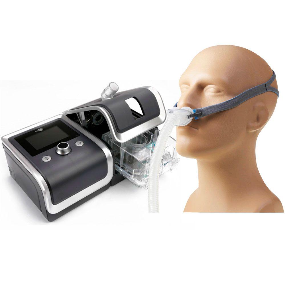 CPAP Automático RESmart G2 + Umidificador + Máscara AirFit P10 Resmed