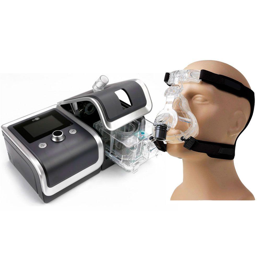 CPAP Automático RESmart G2 + Umidificador + Máscara ComfortFull 2