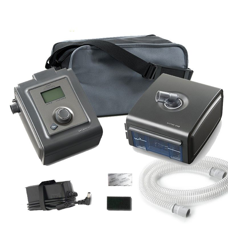 CPAP Automático System One Serie 60 + Umidificador Philips Respironics  - CPAP CARE