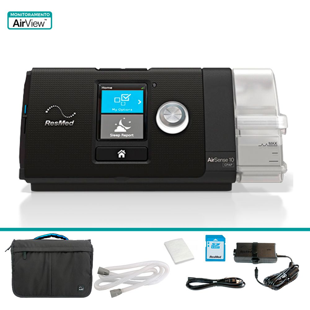 CPAP Básico AirSense 10 com Umidificador ResMed