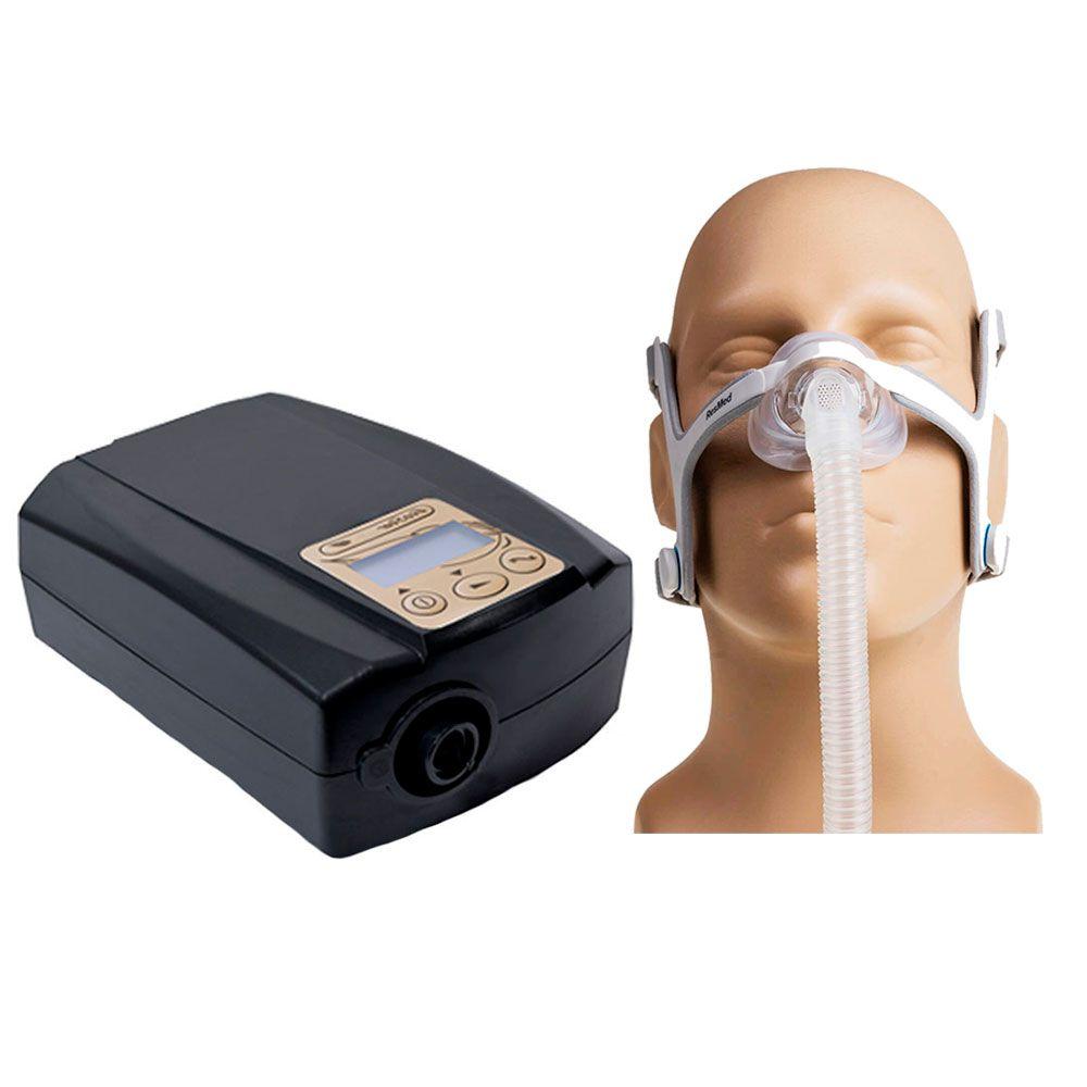 CPAP Fixo Ecostar Sefam + Máscara Nasal AirFit N20 Resmed