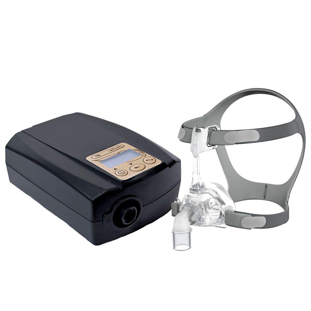 CPAP Fixo Ecostar Sefam + Máscara Nasal Mirage FX