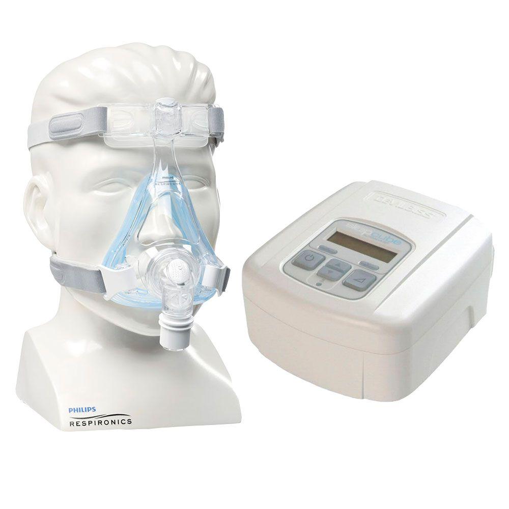 CPAP SleepCube Automático Devilbiss + Máscara Amara Gel