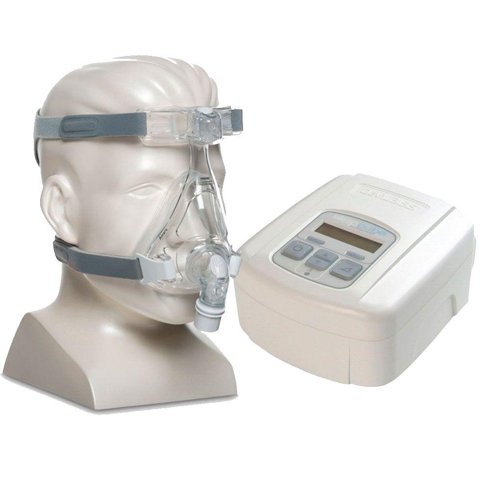 CPAP SleepCube Automático Devilbiss + Máscara Amara Silicone