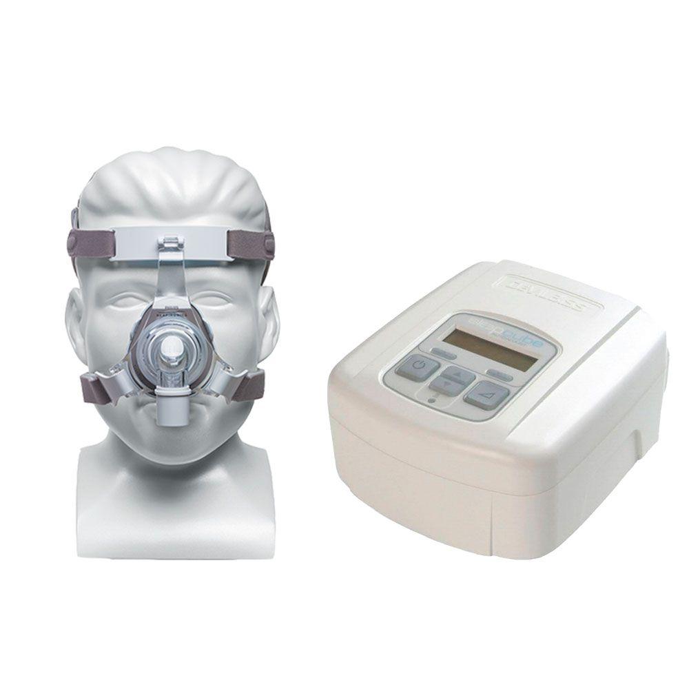 CPAP SleepCube Automático Devilbiss + Máscara Nasal TrueBlue