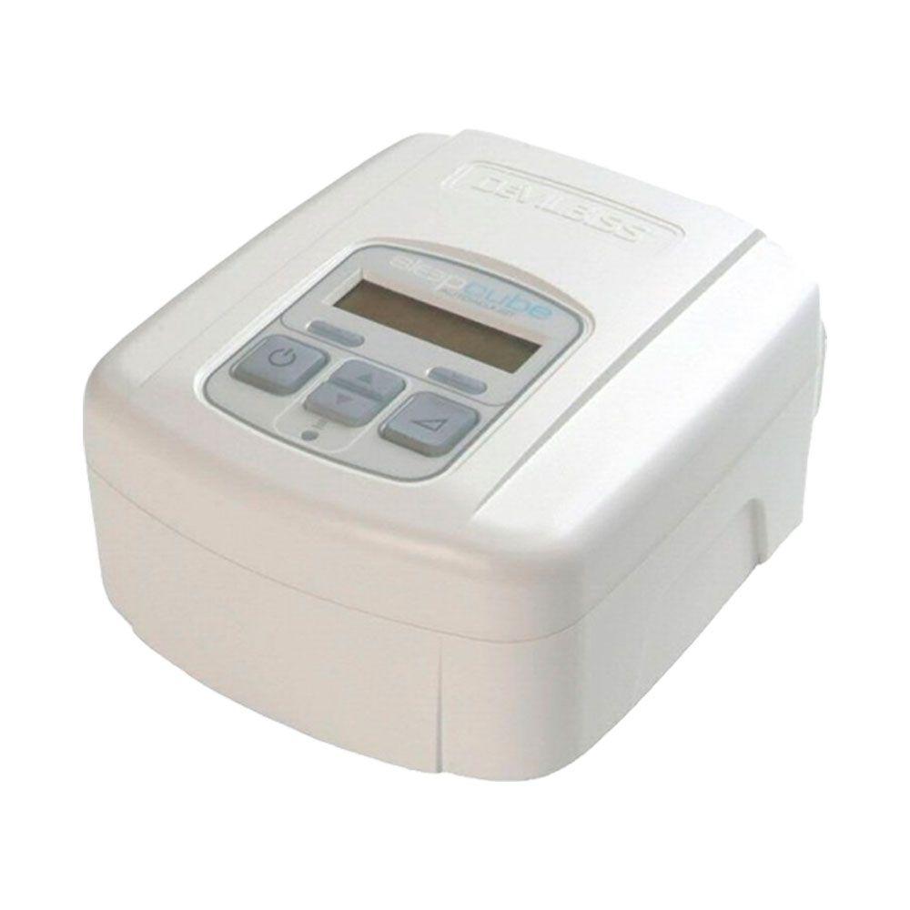 CPAP SleepCube Automático Devilbiss + Máscara Quattro Air Resmed