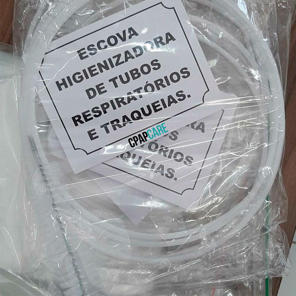 Escova Nacional Higienizadora para Traqueia do CPAP e BiPAP