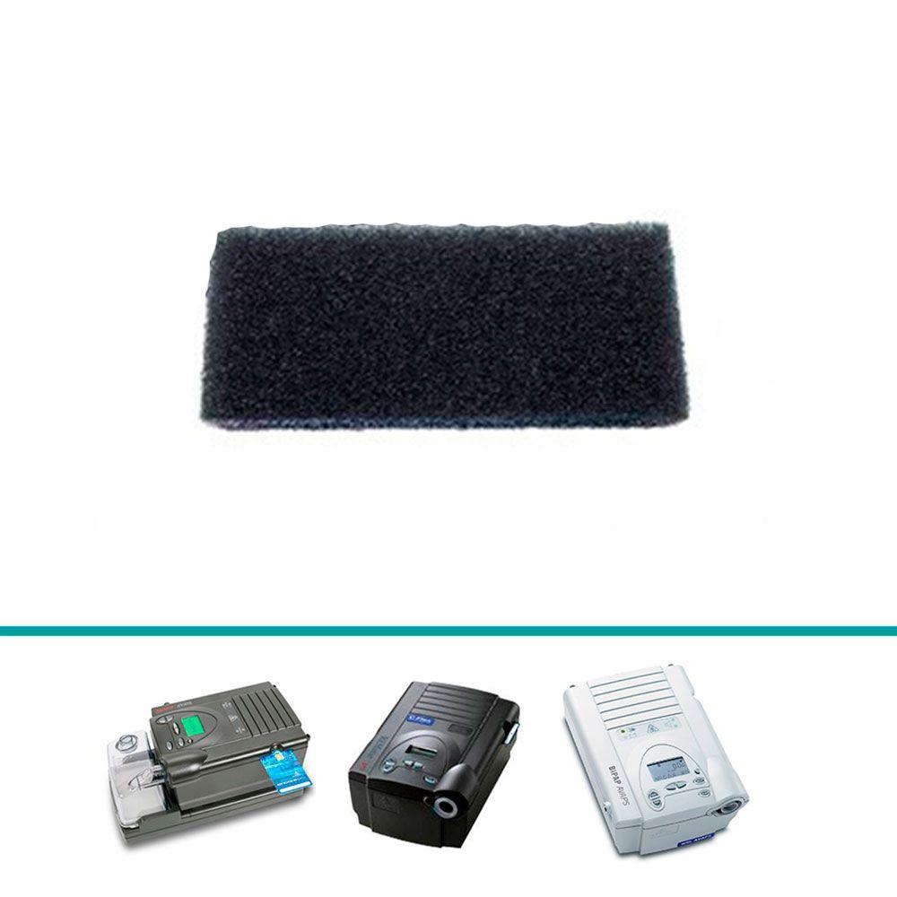 Filtro de Espuma Nacional (4cm x 9cm) CPAP e BiPAP (1 Unidade)