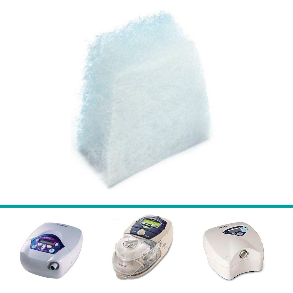 Filtro Nacional VentCare para CPAP e VPAP da linha S8 e C-Series Tango Resmed