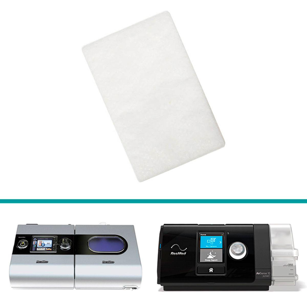 Filtro Original do CPAP AirSense 10 e S9-Series Resmed (1un)