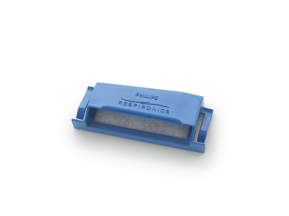 Filtro Pólen (ESPUMA) Azul para CPAP e BiPAP DreamStation Philips Respironics