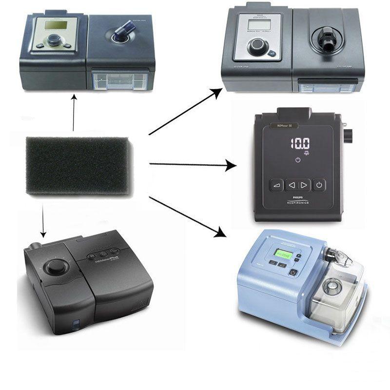 Filtro Pólen (Espuma) Original para CPAP e BiPAP M-series e System One Philips Respironics