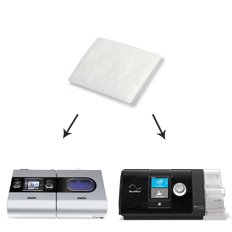 Filtro Ultrafino Nacional para CPAP e VPAP S9, AirSense 10, VPAP AirCurve - MedFlex