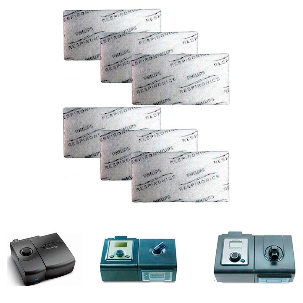Filtro Ultrafino Original M-series e System One Philips Respironics (6 unidades)