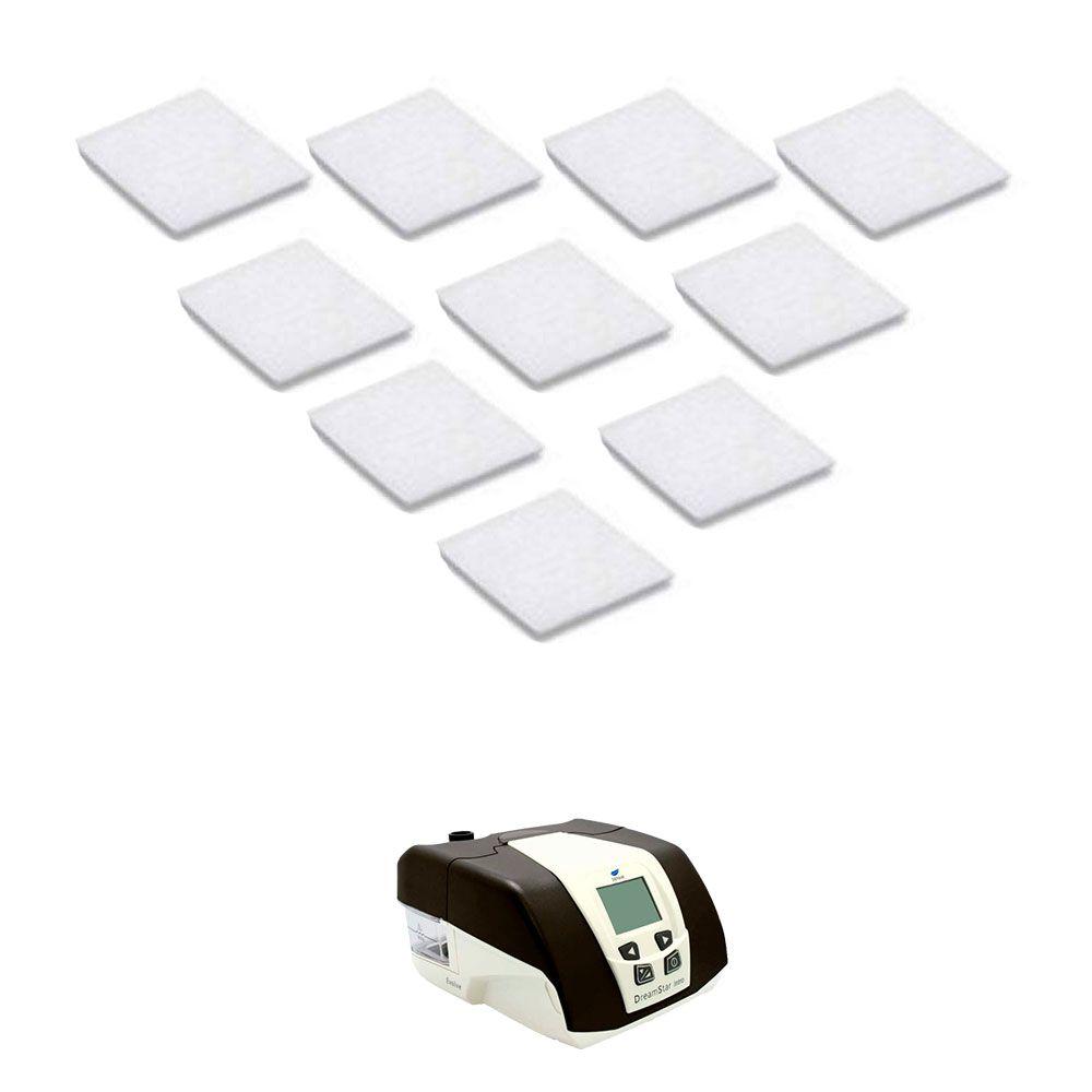 Filtro Ultrafino Original Para CPAP DREAMStar (10 unidades) - Sefam