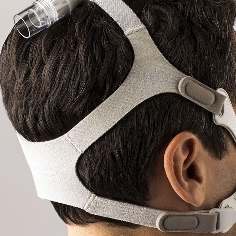 Fixador (arnês) original para máscara Wisp Philips Respironics