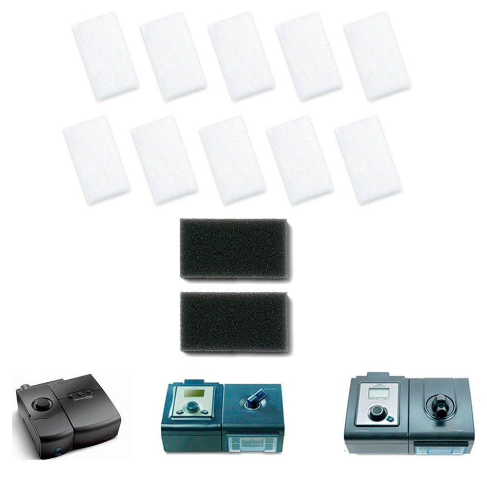 Kit Anual de Filtros Nacional para Cpap e BiPAP M-Series e System One