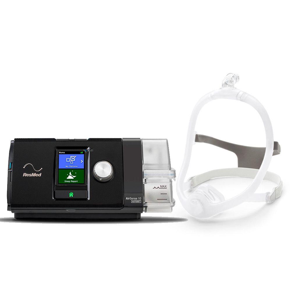 Kit CPAP Automático S10 + Umidificador + Máscara Nasal DreamWisp