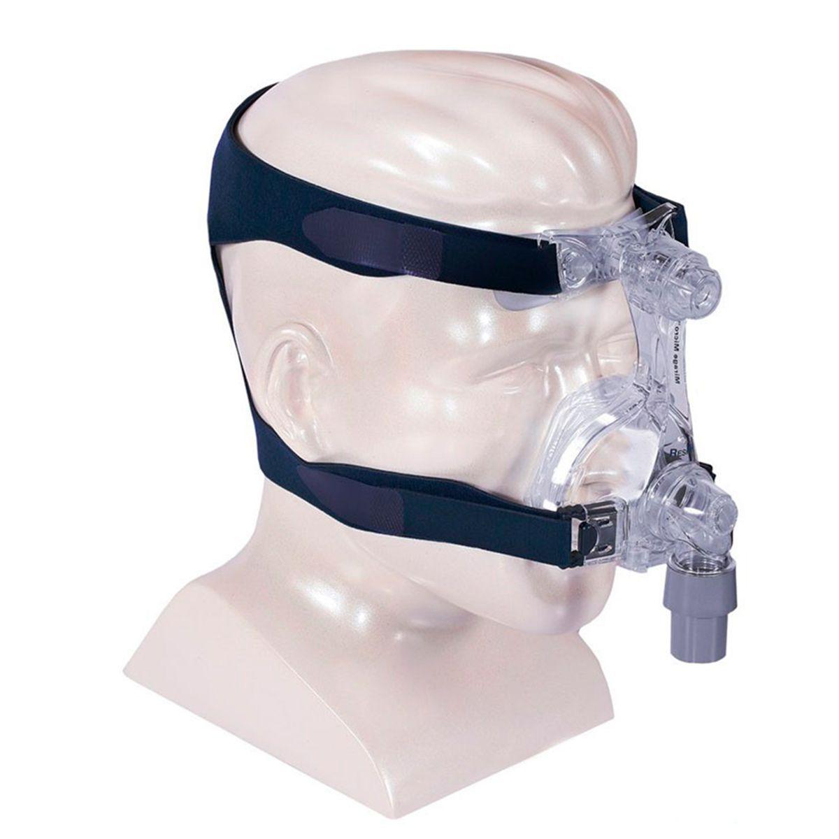 Kit CPAP Automático AirSense 10 AutoSet For Her + umidificador + Máscara Nasal Mirage Micro (Almofada M e G)