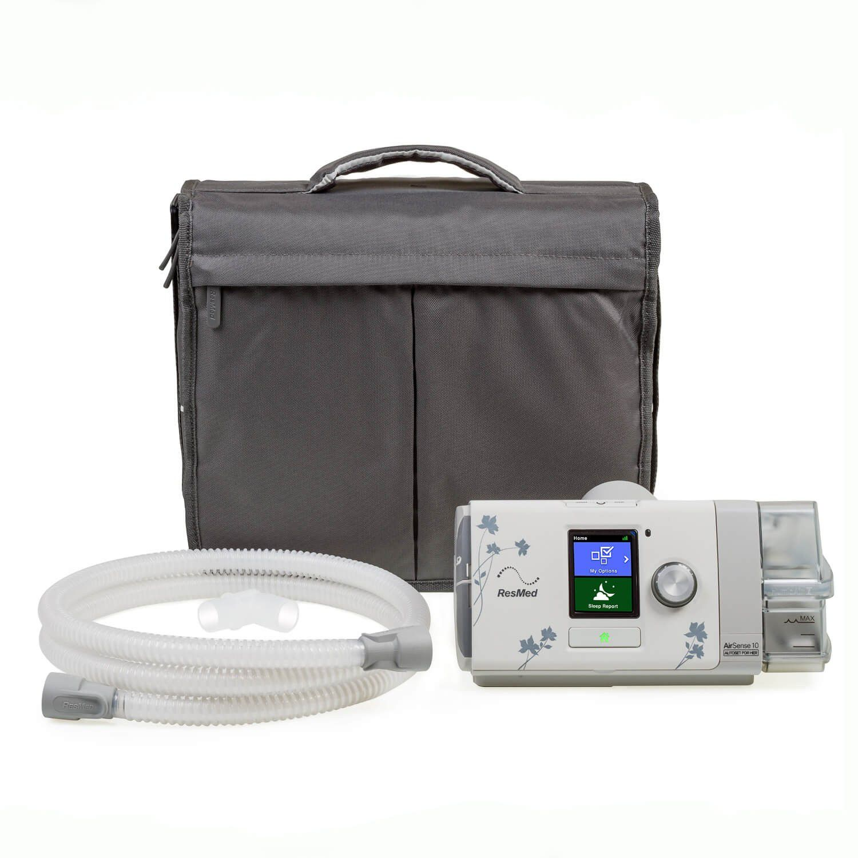 Kit CPAP Automático AirSense 10 AutoSet For Her + umidificador + Máscara Nasal Nuance