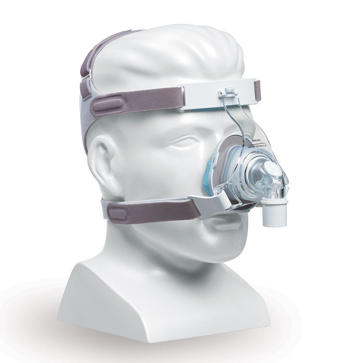 Kit CPAP Automático AirSense 10 AutoSet For Her + umidificador + Máscara Nasal TrueBlue