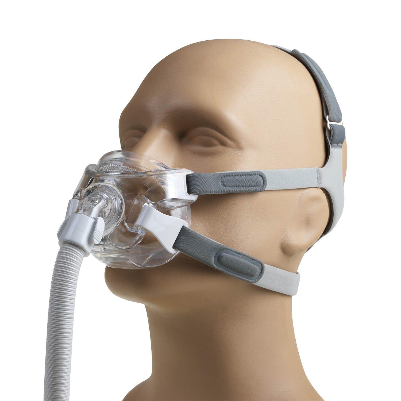 Kit CPAP Automático AirSense 10 AutoSet For Her + umidificador + Máscara Oronasal Amara View