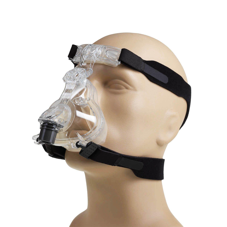 Kit CPAP Automático AirSense 10 AutoSet For Her + umidificador + Máscara Oronasal ComfortFull 2