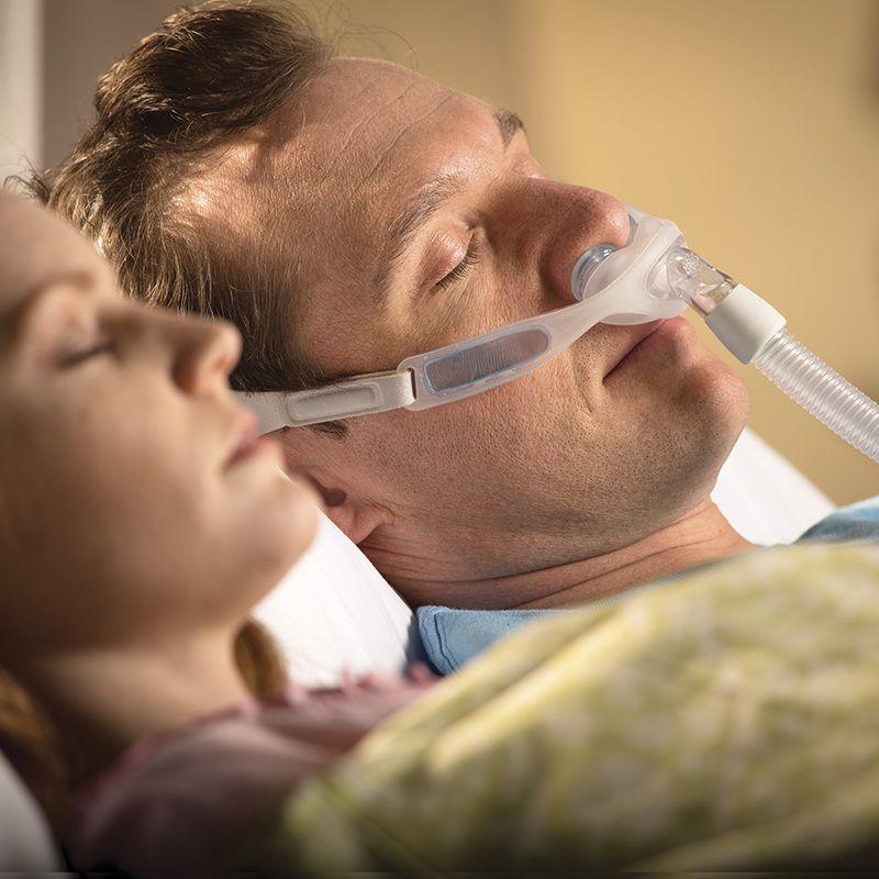 Kit CPAP Automático Airsense 10 Resmed +Umidificador + Máscara Nasal Nuance Philips Respironics