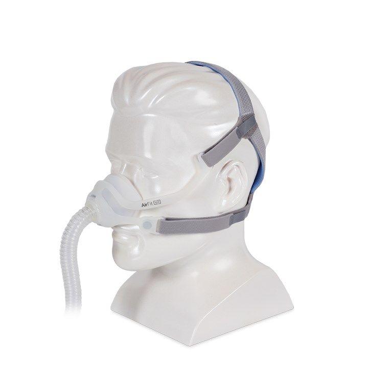 Kit CPAP Automático AirSense 10 S10 + Umidificador + Máscara Nasal AirFit N10 Resmed