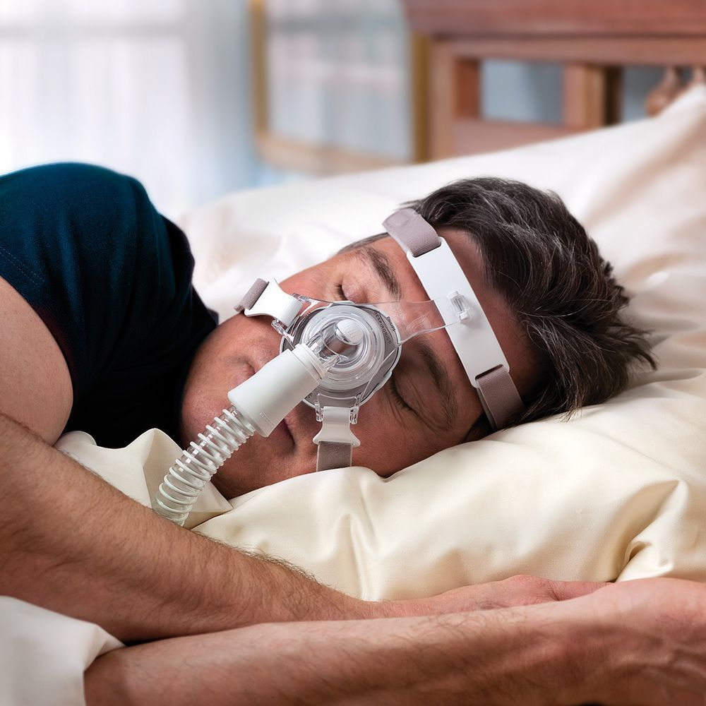 Kit CPAP Automático DreamStation + Umidificador + Máscara Nasal TrueBlue Philips Respironics