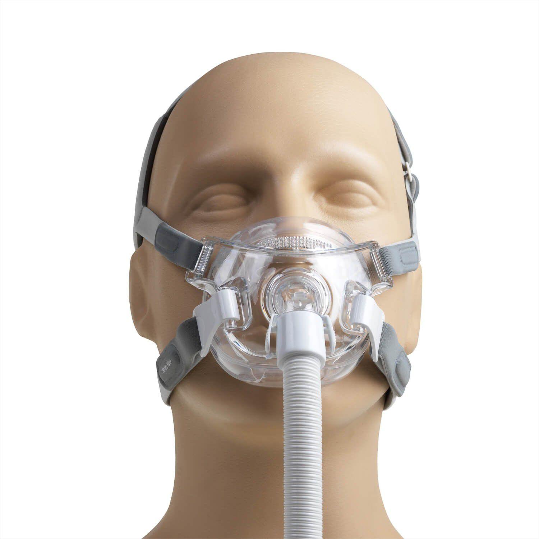 Kit CPAP Automático DreamStation + Umidificador + Amara View Philips Respironics