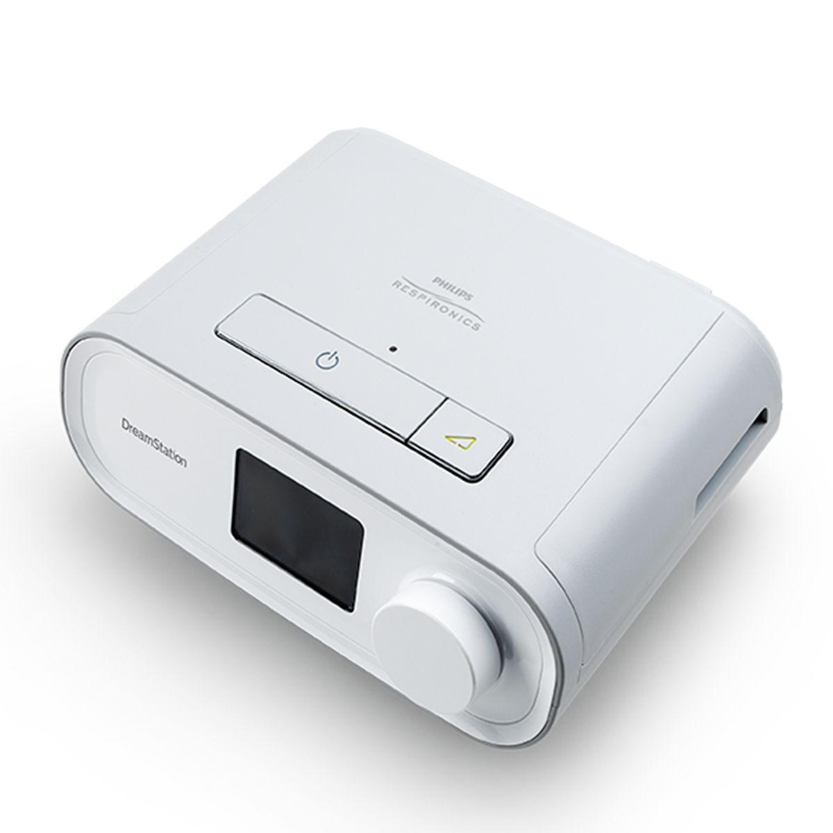 Kit CPAP Automático DreamStation + Umidificador + Máscara Mirage Quattro