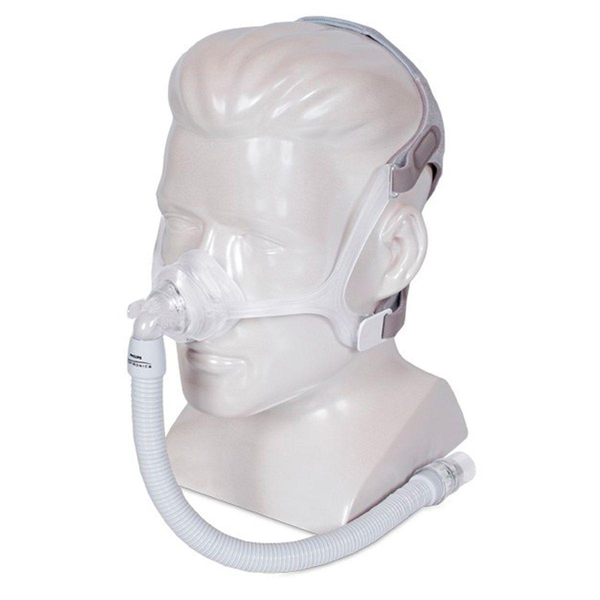 Kit CPAP Automático DreamStation + Umidificador + Máscara Nasal Wisp Philips Respironics