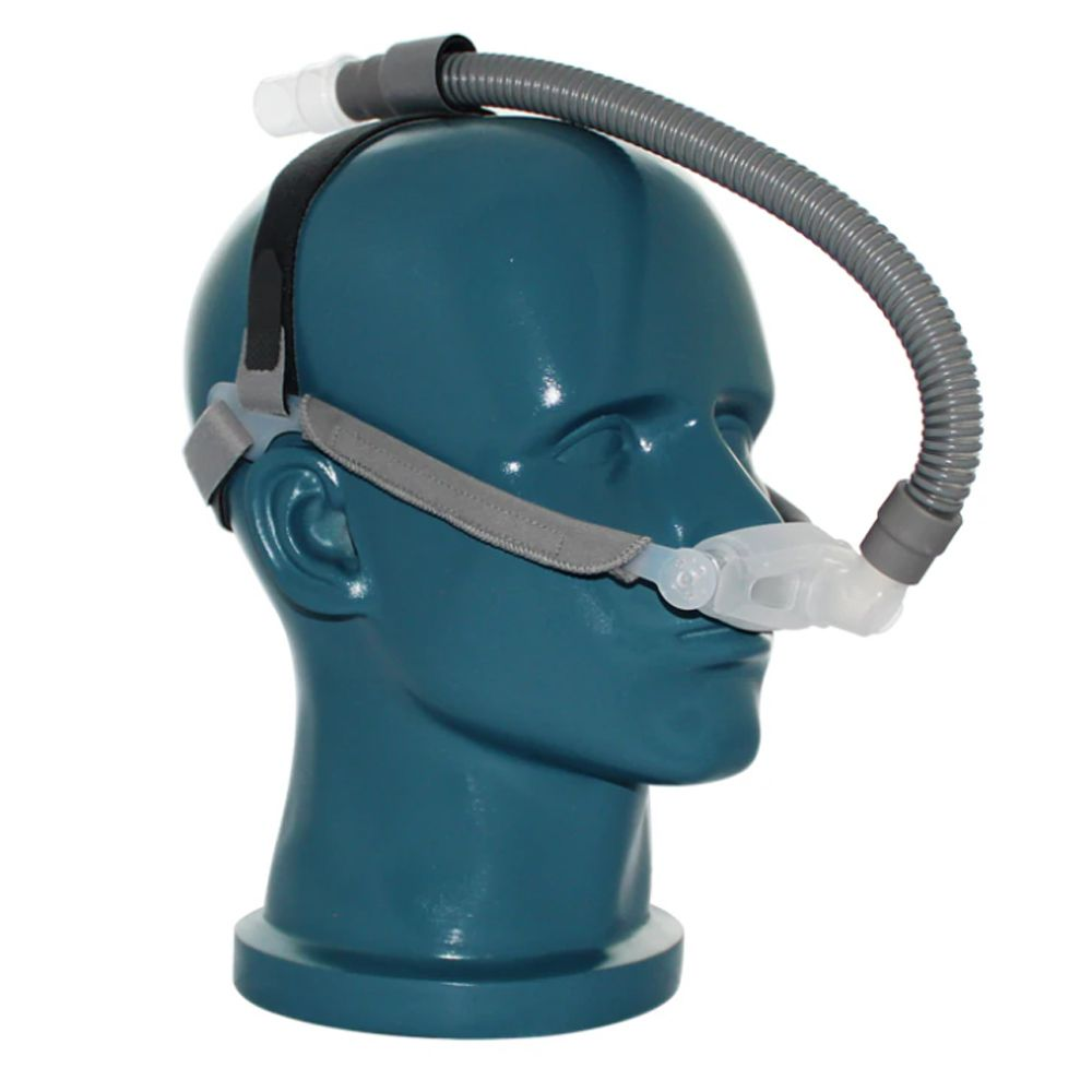 Kit CPAP Automático Yuwell + Umidificador + Máscara Nasal FeaLite Silicone