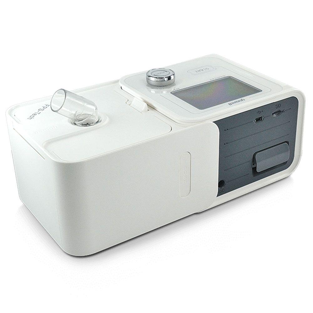 Kit CPAP Automático Yuwell + Umidificador + Máscara Nasal Mirage FX