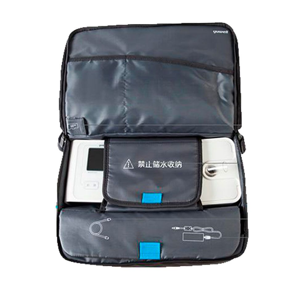 Kit CPAP Automático Yuwell + Umidificador + Máscara Nasal Nuance Tecido
