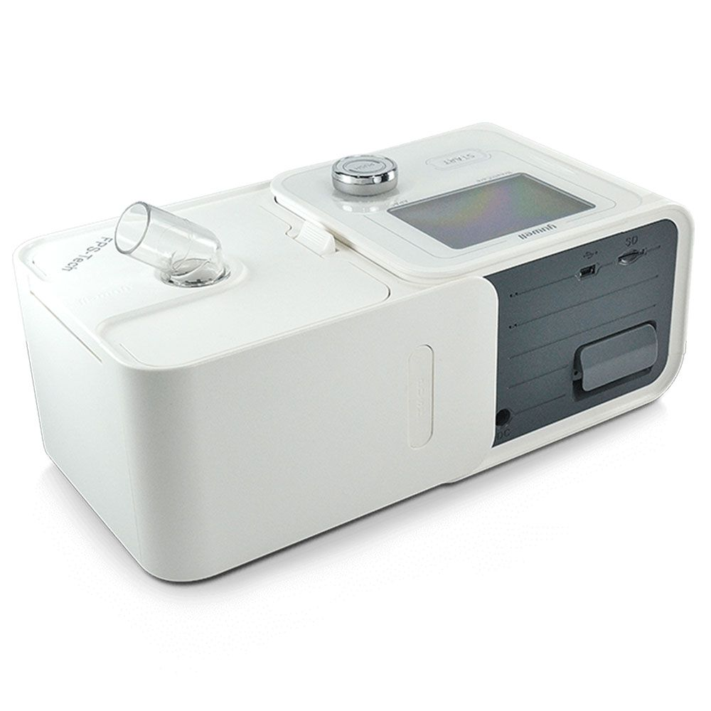 Kit CPAP Automático Yuwell + Umidificador + Máscara Oronasal Mirage Quattro