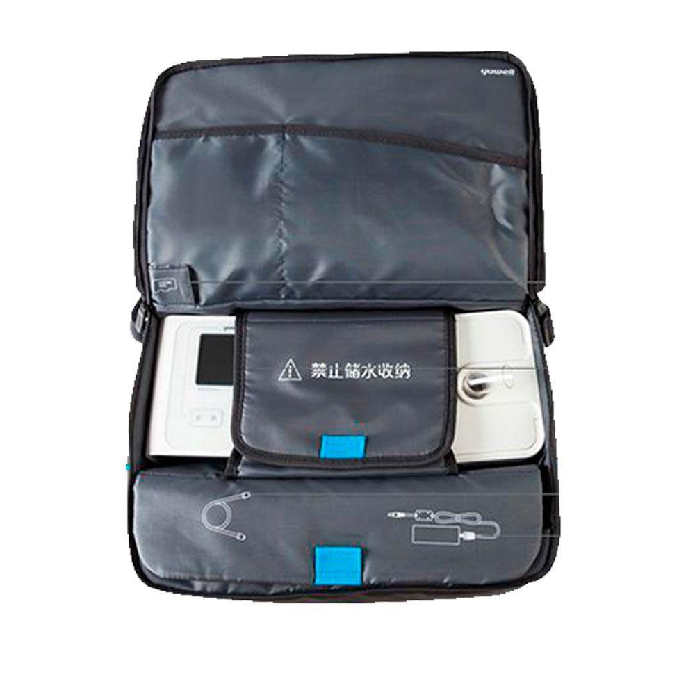 Kit CPAP Automático Yuwell + Umidificador + Máscara Oronasal Quattro Air For Her